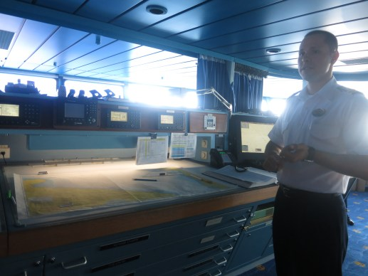 Splendour of the Seas Bridge Navigation Map