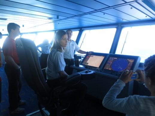 Splendour of the Seas Bridge Navigation Instruments