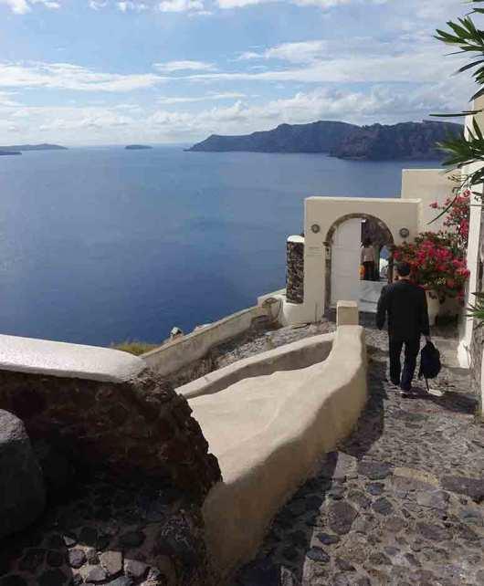 Canaves Oia Stairs, Santorini, Greece