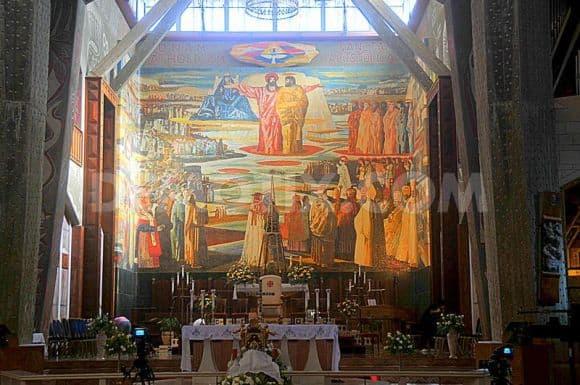 The Church of the Annunciation, Narareth