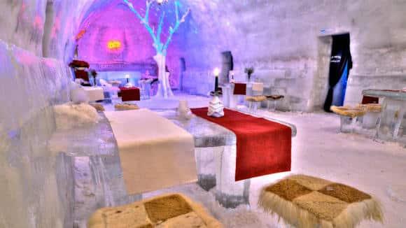 Ice Hotel Romania