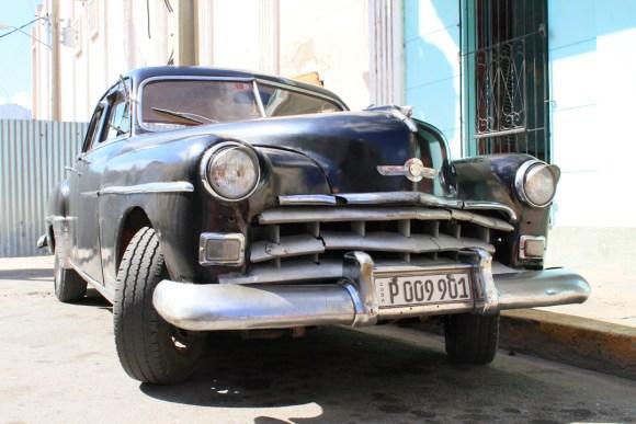 Antique Car on the street of Cienfuegos, Cuba