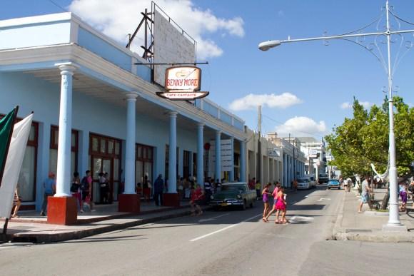 Streets of Cienfuegos, Cuba