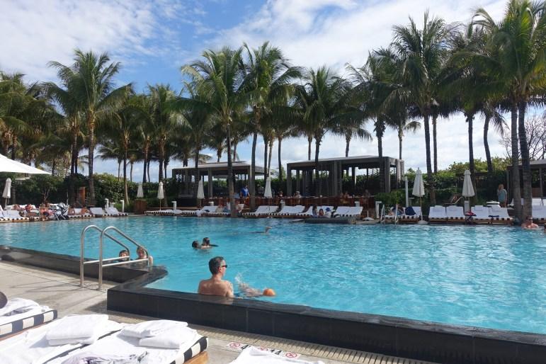 Pool Area - W Hotel South Beach