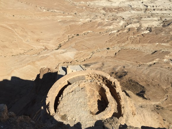 Part Of The Northern Palace of Masada, Israel