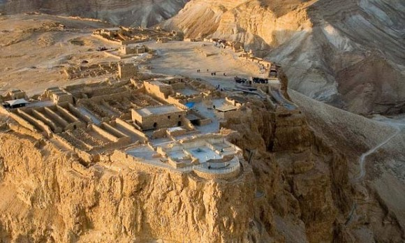 Masada, near the Dead Sea, was excavated 50 years ago. Photograph: Duby Tal / Albatross / Alamy/Alamy