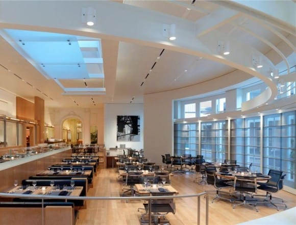 CUT Restaurant by Wolfgang Puck located inside Beverly Wilshire in Beverly Hills (A Four Seasons Hotel)