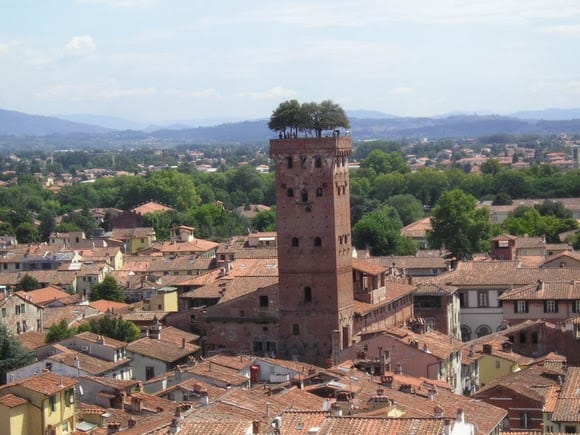 The Guinigi Palace and Tower, Lucca, Italy