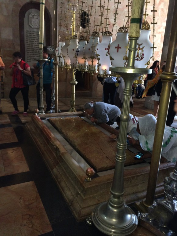 Stone of Anointing, Church of the Holy Sepulchre