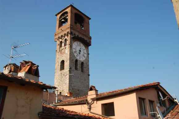 Clock Tower, Lucca, Italy