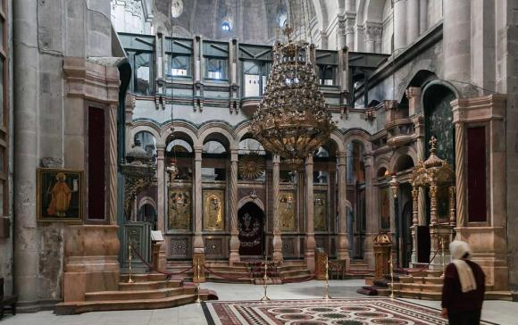 The Greek Orthodox, Katholikon in the Church of the Holy Sepulchre