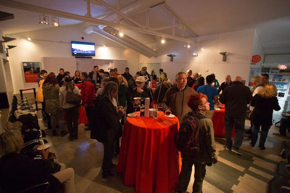 Dinner reception cable car station (photo credit: Juan Gutierrez exposingthemoment.com)