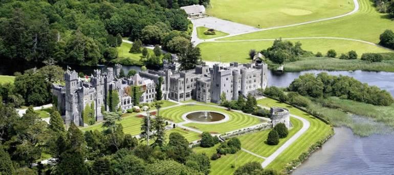 Ashford Castle:  A Real Irish Castle