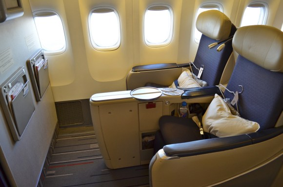 Business Class on Air France (photo credit: flickr Vic)