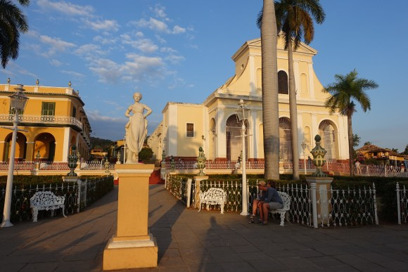 Plaza Mayor historical center, Trinidad, Cuba
