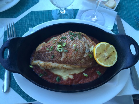 Florida Yellowtail Snapper, Ocean2000 Restaurant