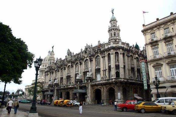 Gran Teatro of Havana (photo credit: Susan K. Kiesau)