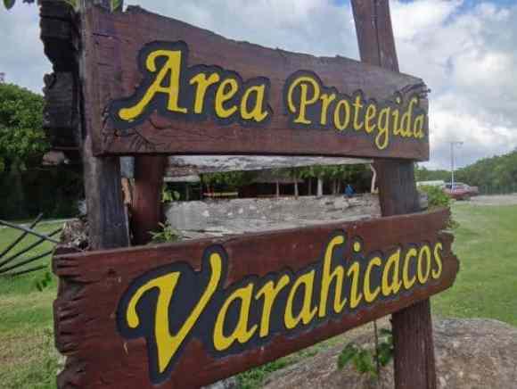 Sign at Varahicacos (photo credit: KandSFamily)