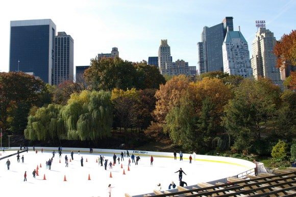 Wollman Ice Skating Rink - Central Park (Image: CentralPark.com)