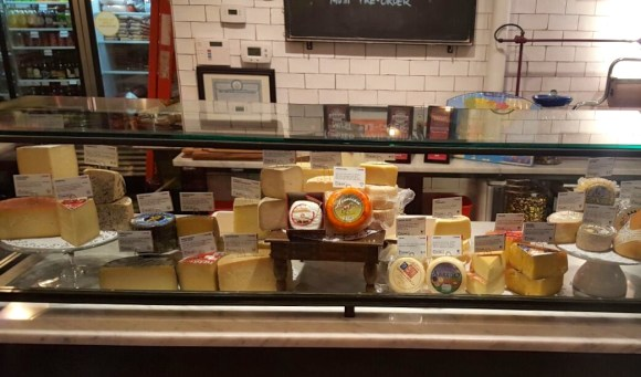 Despaña Fine Foods & Tapas Café Cheese Counter in Soho