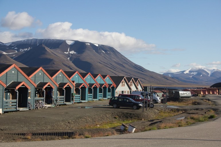 The town of Svalbard, Norway