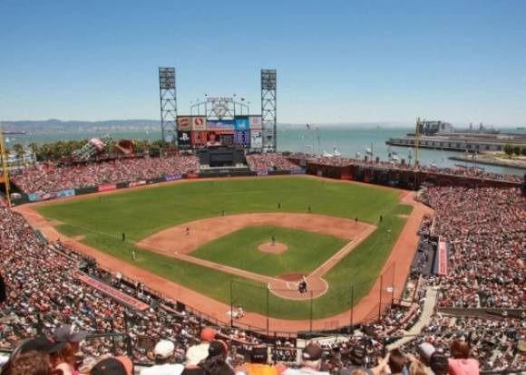 AT&T Park. Credit: @2012 S.F. Giants