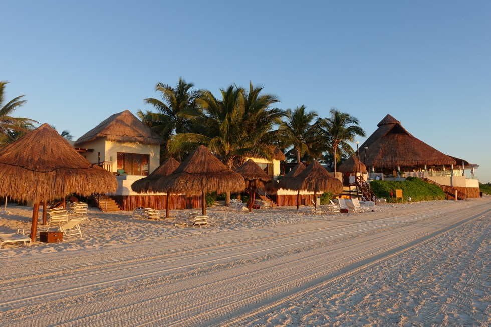 Fairmont Mayakoba beach front