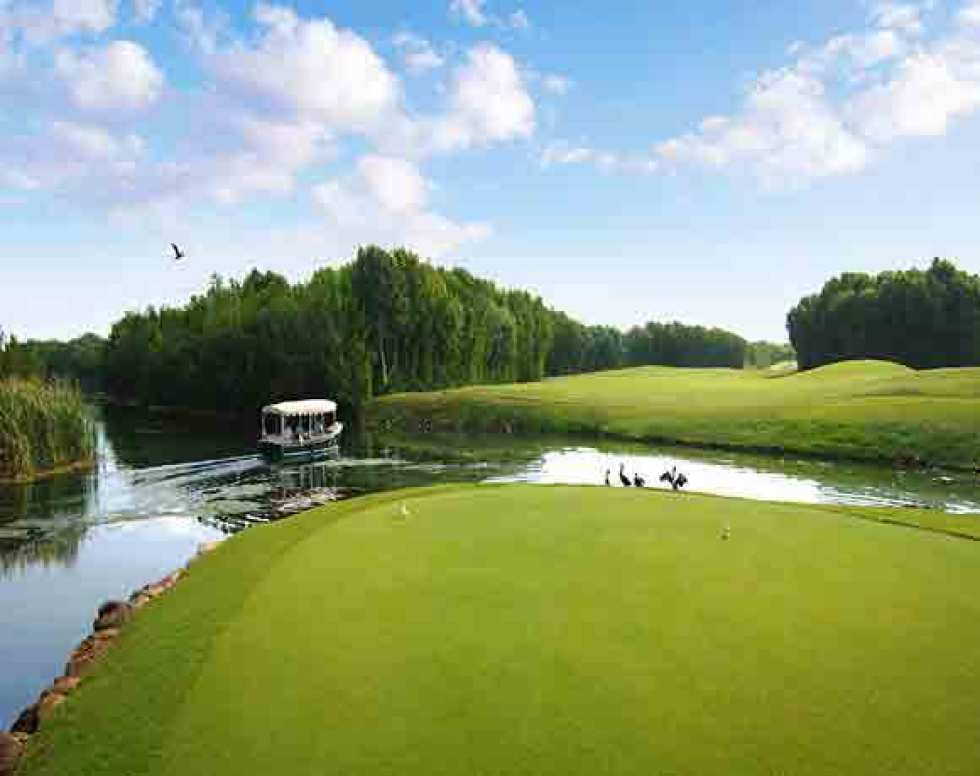 El Caméléon Golf Course host of the annual OHL classic at the Mayakoba property (Image: Fairmont Mayakoba)
