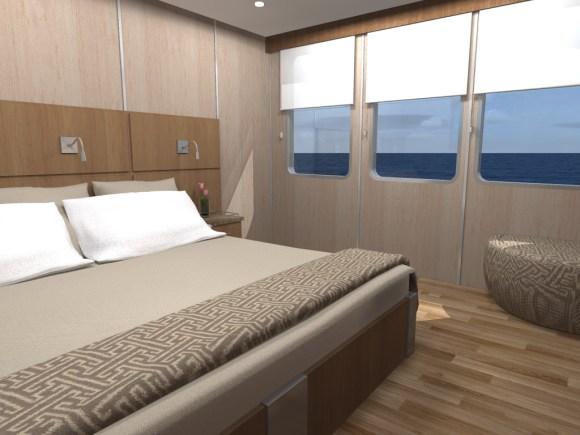 MV Origin Bedroom Accommodations (Image Ecoventura)