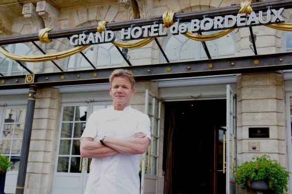 Chef Gordon Ramsay - InterContinental Bordeaux - Le Grand Hotel (Image: IHG)