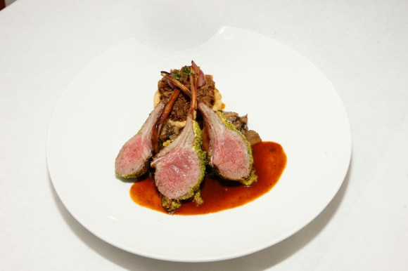 Mexique Herb-crusted rack of lamb (Image: Mexique)
