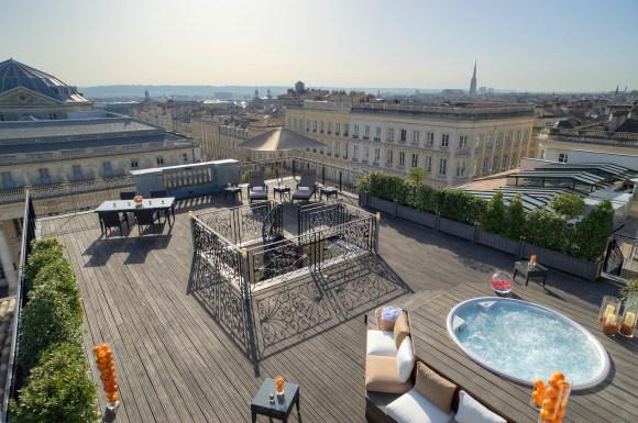 InterContinental Bordeaux – Le Grand Hotel - Suite Royale - Terrasse (Image IHG)