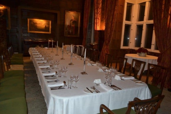 Lord Erne's Dining Room at Crom Castle (Image: Crom Castle