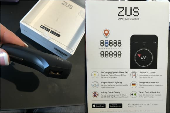 ZUS Smart Car Charger Box