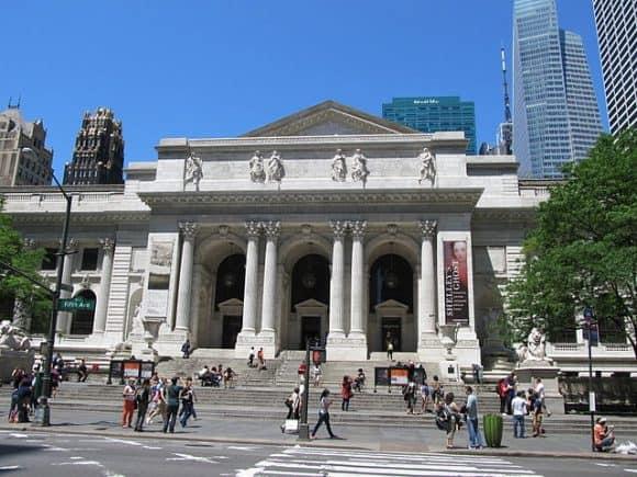 New York Public Library photo provided by Razimantv Wikimedia Commons
