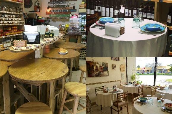 il Paesano Italian Gourmet Food & Wine Market Indoor Seating