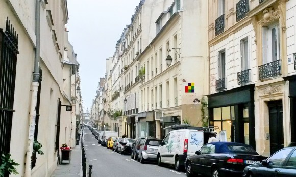 Le Marais Streets in Paris