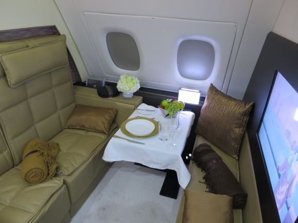 A380 First Class Apartment on Etihad Airways Photo By Travelarz (Own work) CC BY-SA 4.0