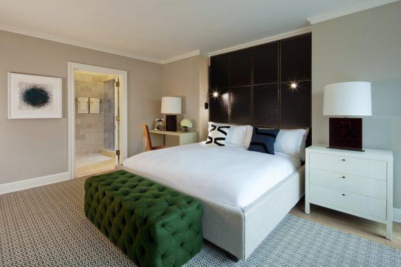 Nate Berkus Apartment Suite Bedroom - Loews Regency New York Hotel
