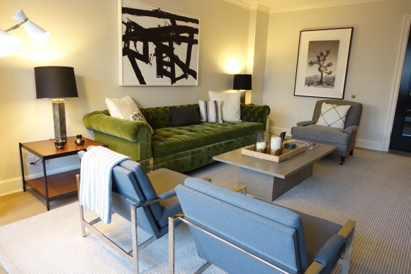 Nate Berkus Apartment Suite Living Area - Loews Regency New York Hotel