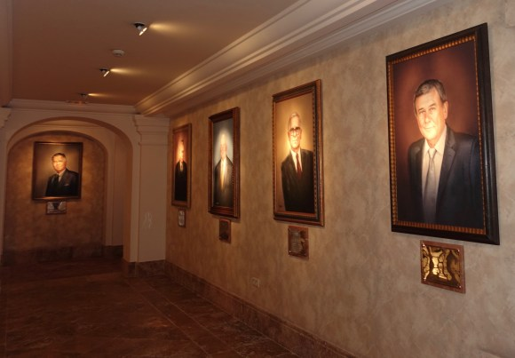 International Hospitality Hall of Fame located at Villa Padierna Palace Hotel in Marbella, Spain