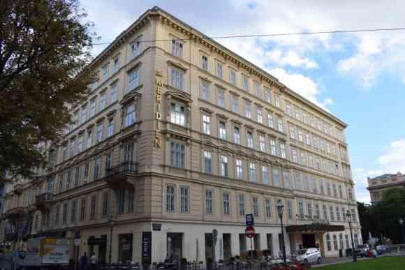 Le Méridien Vienna's facade