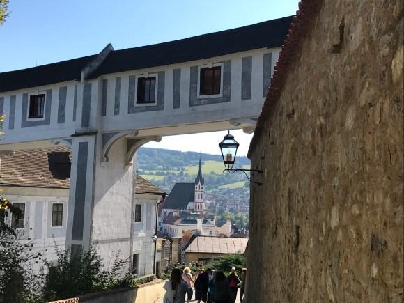 Cesky Krumlov Castle in Czech Republic
