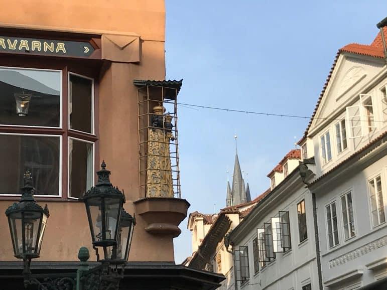 The Black Madonna Statue - Museum of Czech Cubism