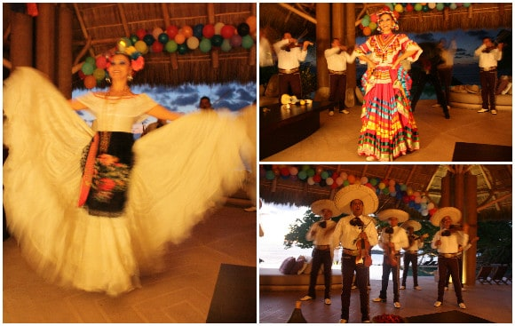 Mariachi Band and Dancers at Casa Majani