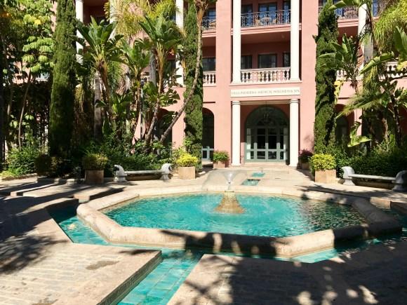 Medical Wellness Spa Entrance - Villa Padierna Palace Hotel
