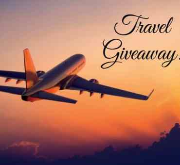 A Travel Giveaway + My Travel Plans!