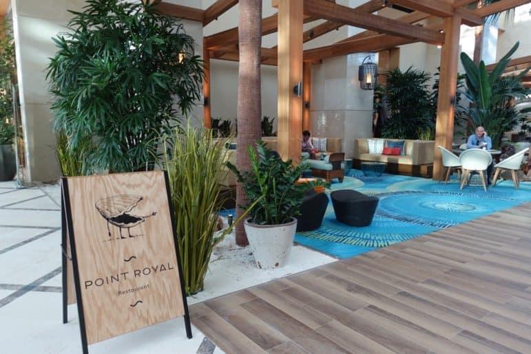The Diplomat Beach Resort Lobby Area
