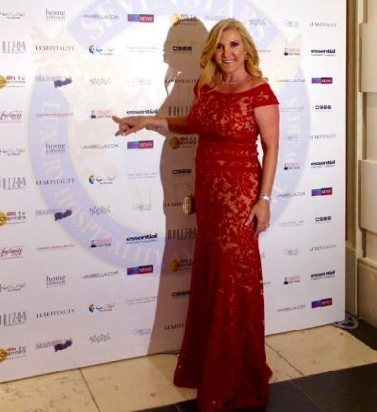 Carmen Edelson, Founder of Carmen's Luxury Travel attending the 4th Annual Seven Stars Luxury Hospitality and Lifestyle Awards