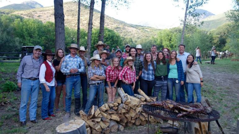 Group picture at Smith Fork, Colorado